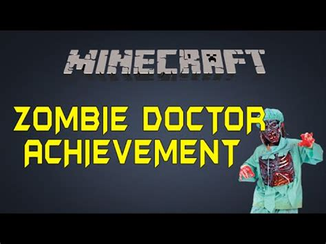 zombie doctor tutorial full download minecraft xbox1 ps4 zombie doctor
