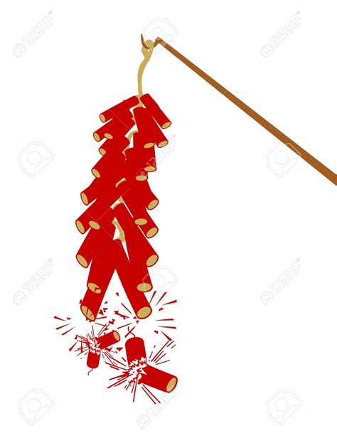 new year firecrackers vector clipart firecracker pencil and in color
