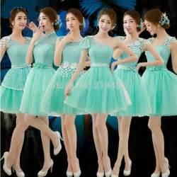 Compra lotes baratos de menta verde del vestido del desfile de