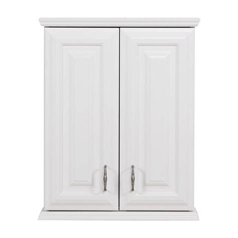 White Bathroom Wall Cabinet St Paul Providence 20 1 2 In W X 25 3 4 In H X 7 3 5 In D The Toilet Bathroom Storage