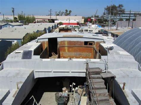 catamaran project for sale 1990 kurt hughes design project catamaran boats yachts