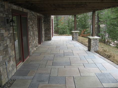 Concrete Or Paver Patio with Concrete Paver Patios 171 Defranco Landscaping