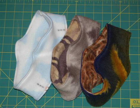 pattern for fleece headbands double thick ear muff style polar fleece headband