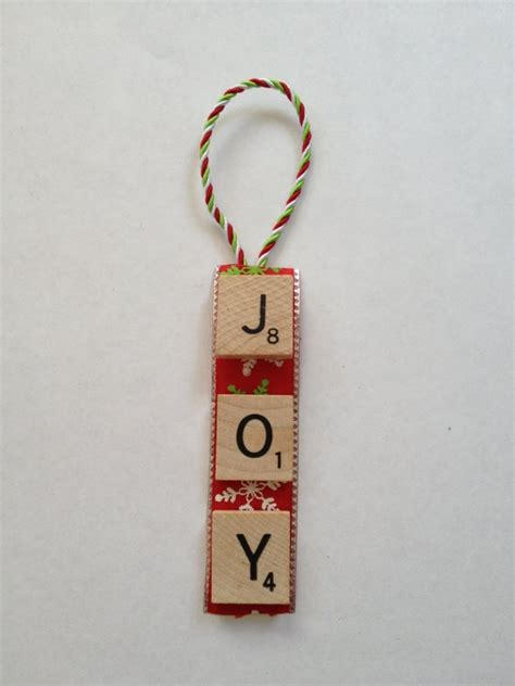 scrabble ornament 7 00 via etsy cleaver craft ideas