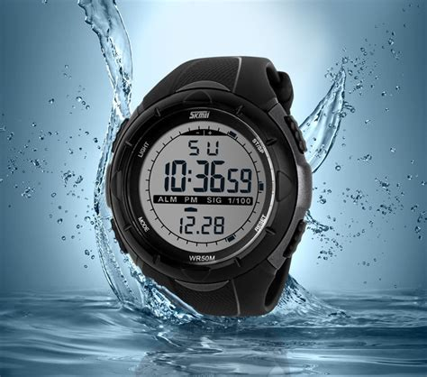 Jam Tangan Swiss Army Adventure skmei jam tangan sport digital pria dg1025 black
