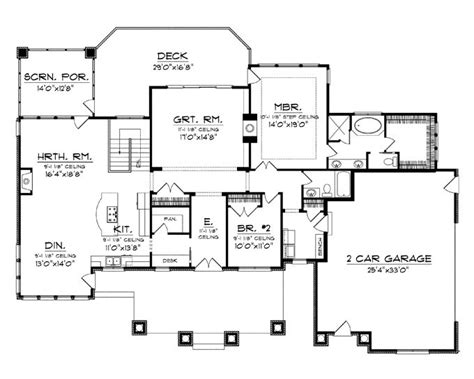 one level floor plans best 25 one level house plans ideas on four bedroom house plans house floor plans