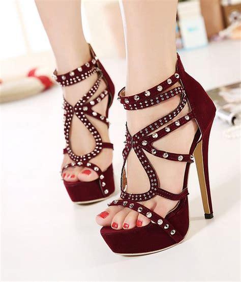 wine high heels wine rivets high heels fashion shoes on luulla