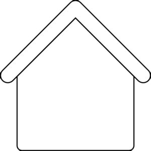 Outlines Of Houses Clipart by Gingerbread House Outline Clip At Clker Vector Clip Royalty Free