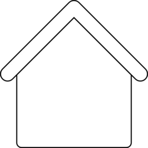 dog house outline dog house clipart clipart best