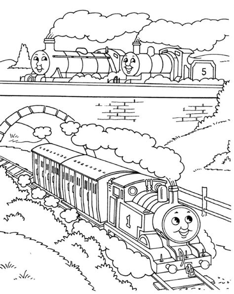 coloring pages exciting thomas the train coloring pages