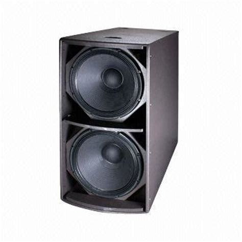 Speaker Subwoofer 18 Rcf pa speaker with 18 inch rcf subwoofer wood cabinet with water paint 1800w 4遘 global