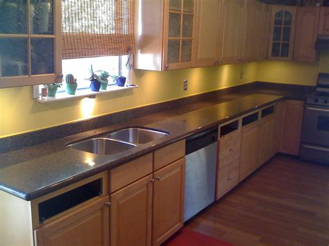 new kitchen countertops freshly installed photos free