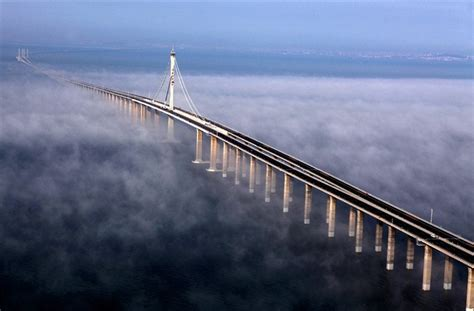 qingdao haiwan bridge world s longest sea bridge qingdao haiwan myclipta