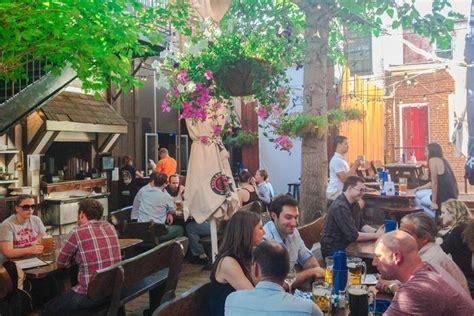 biergarten haus oktoberfest best outdoor bars restaurants in dc loews wishyouwerehere