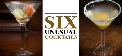 unique cocktails unique cocktail recipes unusual cocktails with unexpected