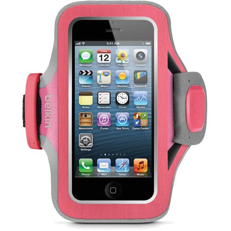 Sports Armband For Iphone 5 5s 5c Se Iphone Se 5 5s Pink belkin sport fit plus armband for iphone 5 5s 5c se f8w299ttc01