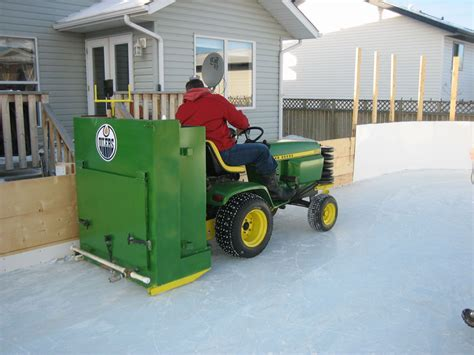 backyard rink zamboni backyard hockey rink zamboni outdoor furniture design