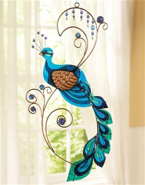 home decor accents metal peacock wall by winston brands
