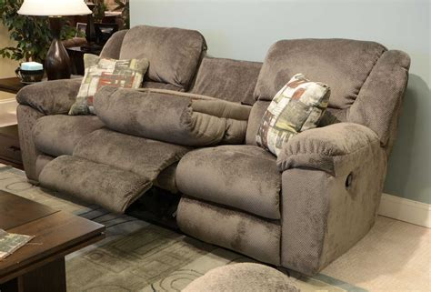 console loveseat catnapper transformer ultimate sofa with 3 recliners and 1