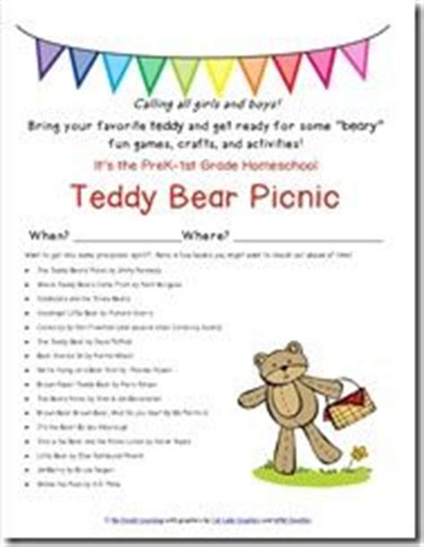 teddy picnic invitation template teddy picnic on 28 pins
