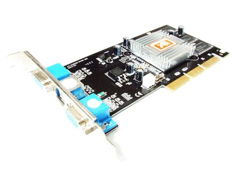 Vga Card Dual ati radeon 7000 dual vga agp graphics card ati radeon rv100 ddr ati ve 64mb tv