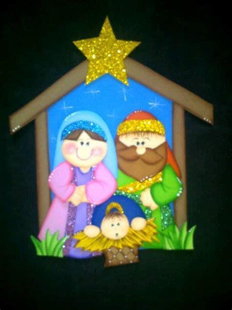 ba 218 l de navidad pesebre infantil para colorear y recortar navidad creaciones rosa campos nacimientod pinterest