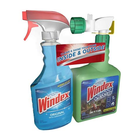 windex 32 oz outdoor glass and patio concentrated cleaner