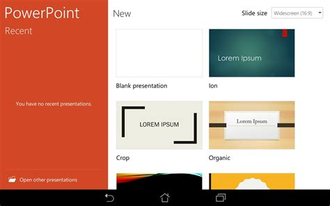 microsoft powerpoint for android microsoft powerpoint preview programmes pour android t 233 l 233 chargement gratuit microsoft