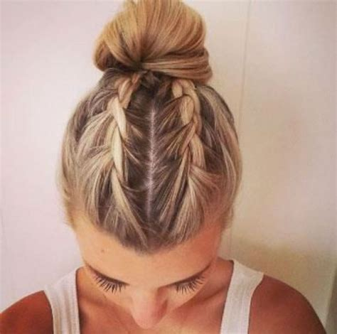 bun hair direction 25 best ideas about two french braids on pinterest
