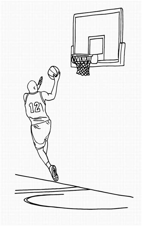 basketball backboard coloring page basketball hoop coloring page free coloring pages on art