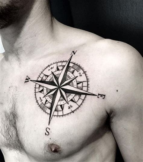 compass tattoo male 23 great compass tattoo ideas for men styleoholic