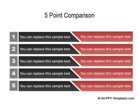 Comparison Ppt Template Powerpoint Pros And Cons Best Presentation For Compare And Contrast Powerpoint Templates