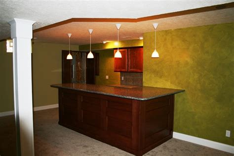 Simple Bar Custom Built Home Bar Ideas In Ohio