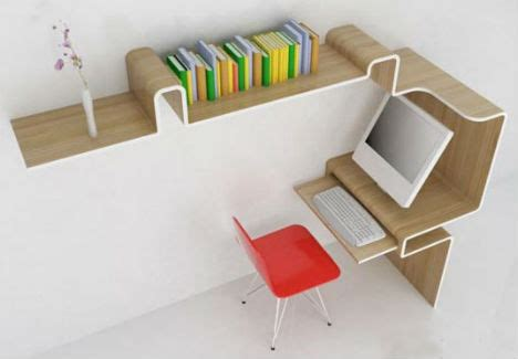 Office Desk Solutions Ultra Compact Interior Designs 14 Small Space Solutions