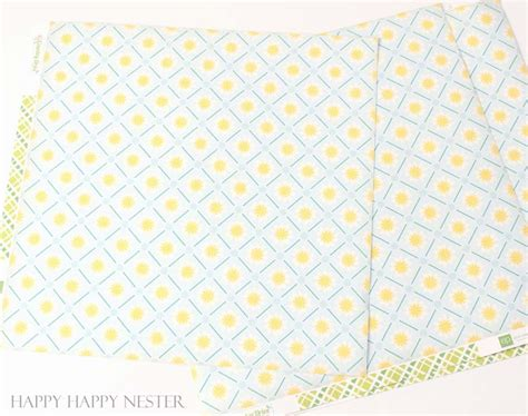 craft paper table runner paper table runner diy easy craft project happy happy