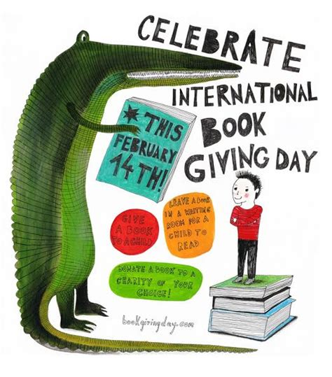 why 14th feb is celebrated as day celebrate international book giving day feb 14th