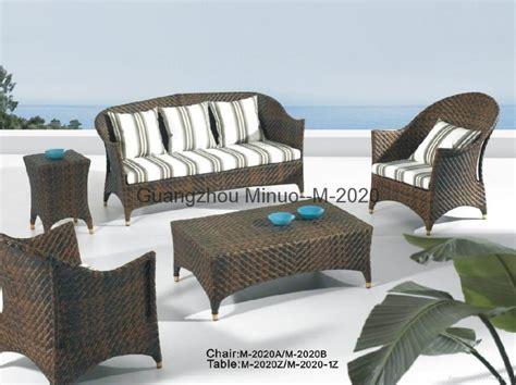 outdoor sofa set pe rattan outdoor sofa sets m 2083 minuo china manufacturer hotel amenities home