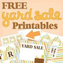 yard sale signs on pinterest | garage sale signs, garage