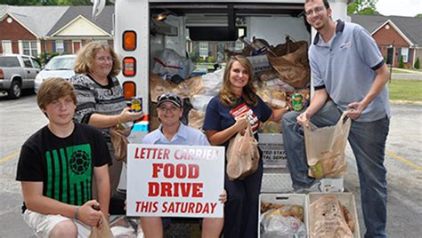 Food Pantry By Zip Code by Post Offices Collect Items For Food Pantries The