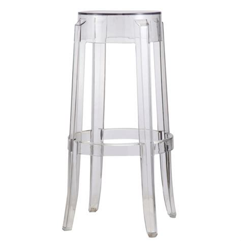 Clear Acrylic Swivel Bar Stools by Acrylic Bar Stool Clear Modern In Designs