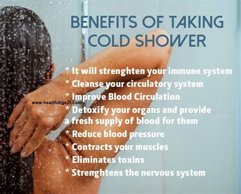 Shower With Cold Water After Workout by Sanjay Eat Smart Stay Healthy Tummy