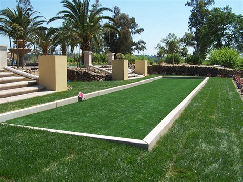 bocce ball court dimensions awesome bocce ball court