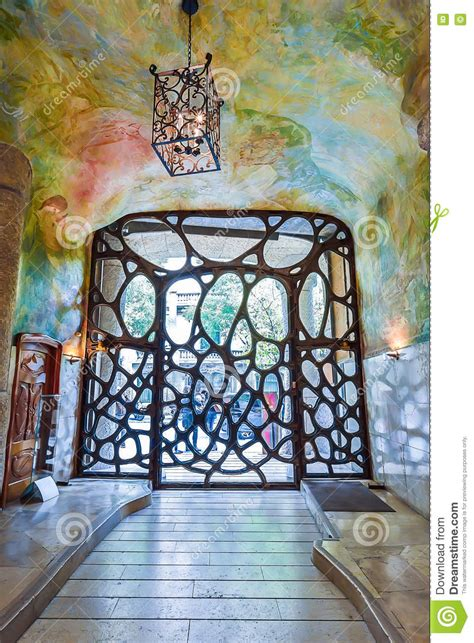 casa milà interno barcellona spagna 28 aprile interno della casa mila di