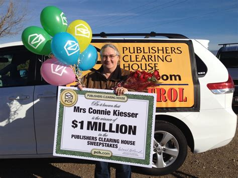 How Does Publishers Clearing House Work - congratulations to idaho winner connie kiesser pch blog