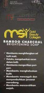 msi bamboo charcoal soap agen resmi  pt msi