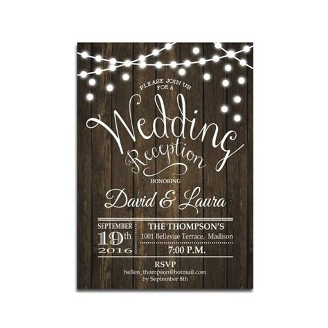 Wedding Reception Announcement by Best 25 Reception Invitations Ideas On