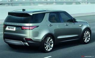 land rover reveals new discovery autoconception