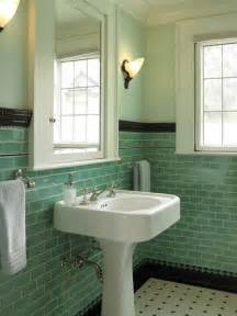 can i paint my 1950 s green tile small bathroom green