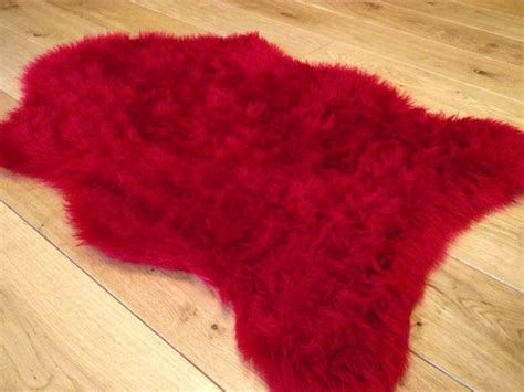 red rugs for bedroom details about ruby red rugs fluffy bedroom rug faux fake