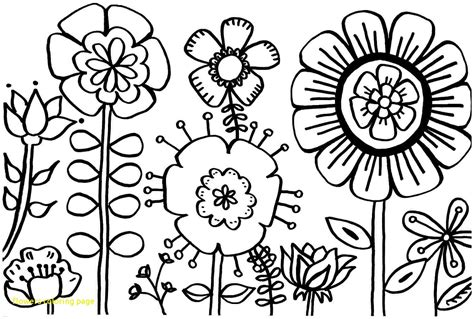 coloring pages flowers coloring town flowers coloring page with spring flower coloring pages